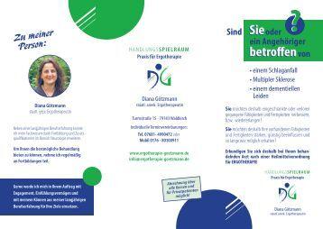 Unser Prospekt - Praxis für Ergotherapie Diana Götzmann