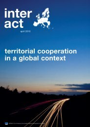 Newsletter INTERACT | Issue 2010-04 | External cooperation