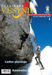 planinstv o - Planinski Vestnik