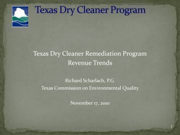 Rich's presentation (PDF) - State Coalition for Remediation of ...