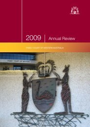 Download Annual Review 2009 (PDF) - Family Court of Western ...