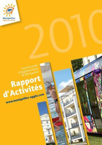 Rapport d'activités 2010 - Montpellier Agglomération
