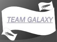 team galaxy - F1 in Schools
