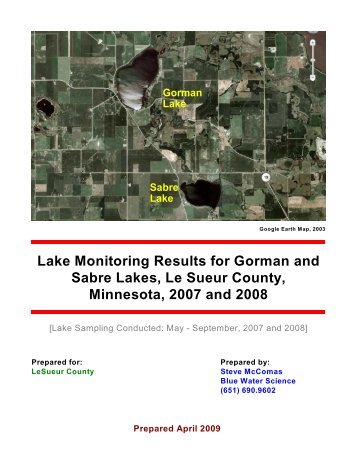 Le Sueur Co R08 Gorman Sabre - r - Le Sueur County, Minnesota