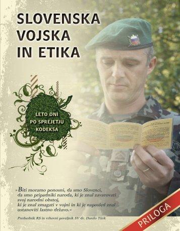 Slovenska vojska in etika