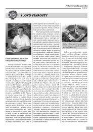Velkopavlovický zpravodaj III/2012 - černobílá textová část
