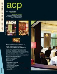 Cloisons, doublages, staff : PIF 91 - L'Architecture