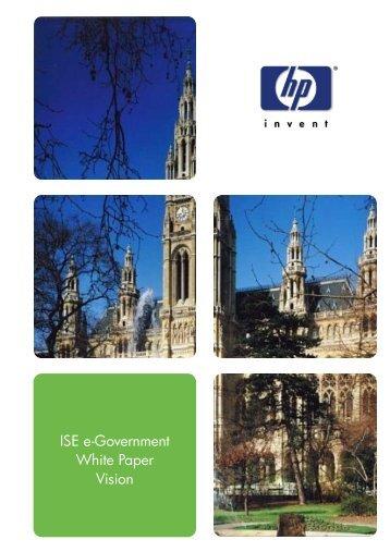 ISE e-Government White Paper - PubblicaAmministrazione.net