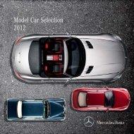 Model Car Selection 2012 - Mercedes-Benz PRAHA