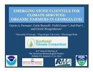 organic farmers in georgia (us)