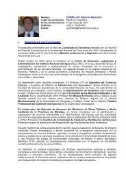 CURRICULUM VITAE ALEJANDRO A - FRBB - UTN - Universidad ...