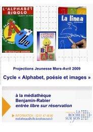 Programme complet du cycle - médiathèques de La Roche-sur-Yon