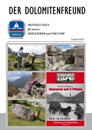 Der Dolomitenfreund 01-2013 Leseprobe - Dolomitenfreunde