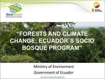 Ecuador - PROFOR
