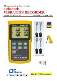 4 channels VIBRATION RECORDER - MICRONIX, spol. s ro