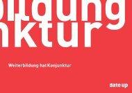 date up Imagebroschüre - Dienstzeitende