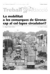 La mobílítat a les comarques de Girona: cap al coMapse ... - Raco