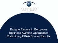 Preliminary EBAA Survey Results (369 KB, PDF) - eBace