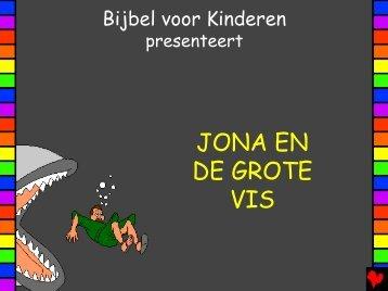 Jonah and the Big Fish Dutch PDA - Bible for Children