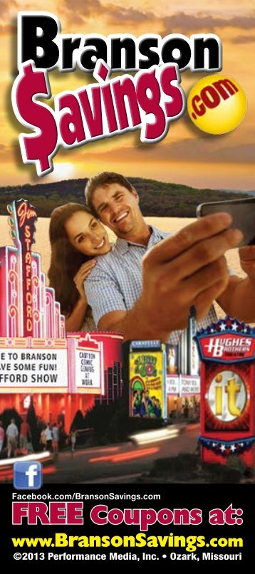 Download our FREE 2013 Branson Savings Guide!