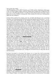 Offener Brief an Herrn Dr. Axel Wilke, CDU, MdL