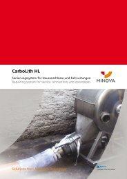 CarboLith HL - Minova CarboTech GmbH