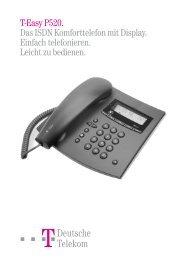 T-Easy P520 - Deutsche Telekom
