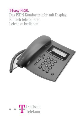 T-Easy P520 - Deutsche Telekom