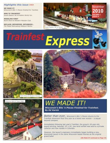 View Printable PDF Version - Trainfest