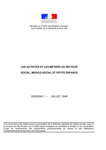 chiffres cles et structures des secteurs social, medico ... - Uniopss