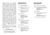 Programm 2010 - Katholische Ärztearbeit Deutschlands eV