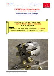 PROMOCJA A490/C490/G490 - MS Spinex