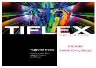 Produits pour le transfert textile - Tiflex