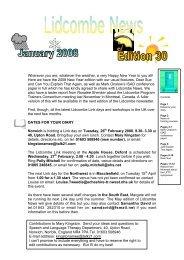 Lidcombe News Edition 30th - Montreal Fluency