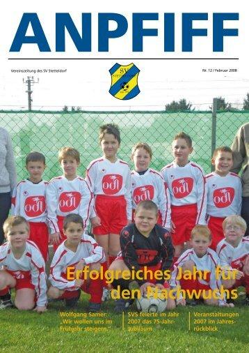 Anpfiff 2008 - SV Stetteldorf