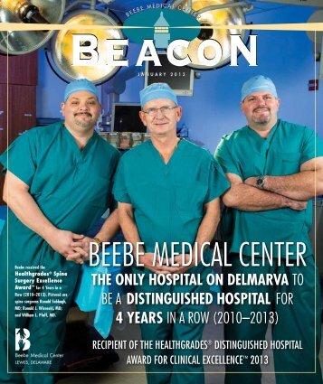 BEACON — January 2013 - Beebe Medical Center