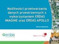 Przetwarzanie danych przestrzennych z wykorzystaniem ERDAS ...