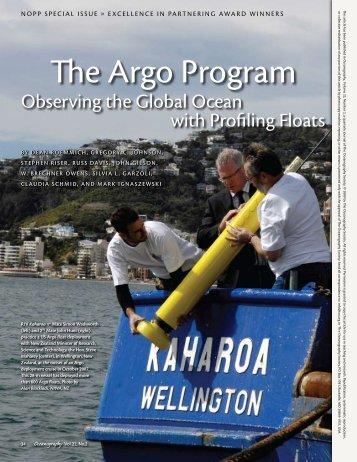 The Argo Program