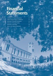 Financial Statements - Publications Unit - The University of Western ...