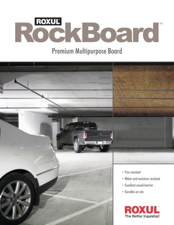 RockBoard - TLP Insulation