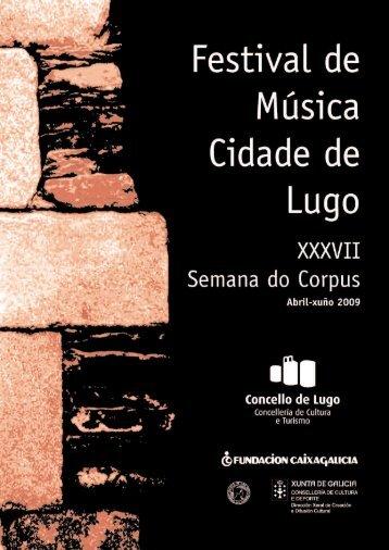 O programa - Concello de Lugo