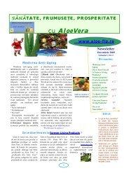 cu AloeVera - Aloe Vera. Produse Aloe Vera Forever Living Products