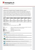 Liste de prix pour les entreprises clientes - Myhomegate.ch - Page 3