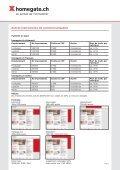Liste de prix pour les entreprises clientes - Myhomegate.ch - Page 4