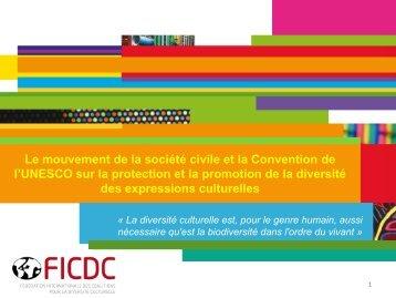 Le mouvement de la société civile et la Convention de l