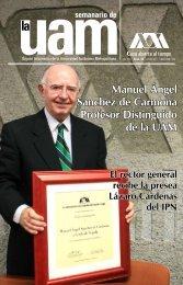 Manuel Ángel Sánchez de Carmona Profesor Distinguido de la UAM