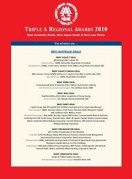 TA-Triple A Awards-Nov - The Asset