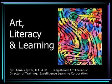 Art, Literacy & Learning in Early Childhood Education - Excelligence ...