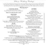 Classic Wedding Package - Aqua Turf Club