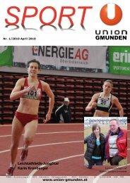 Leichtathletik-JungStar - Sportunion Gmunden